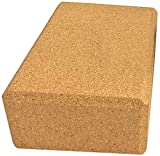 VLFit - Juego de Bloques de Corcho de Alta Densidad para Yoga, Fabricados ecológicamente, 100% Corcho Natural