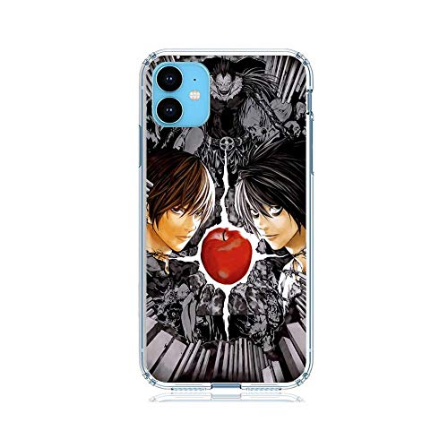 Gogoyang Ultra-Thin Clear Coque Transparent Soft TPU Coque Case Cover for Apple iPhone 11-Death-Note Ryuk-Kira 10