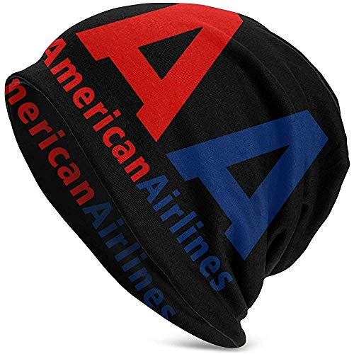 American Airlines Logo Erwachsene Soft Slouchy Beanie Hat Tägliche Lang Baggy Skull Cap