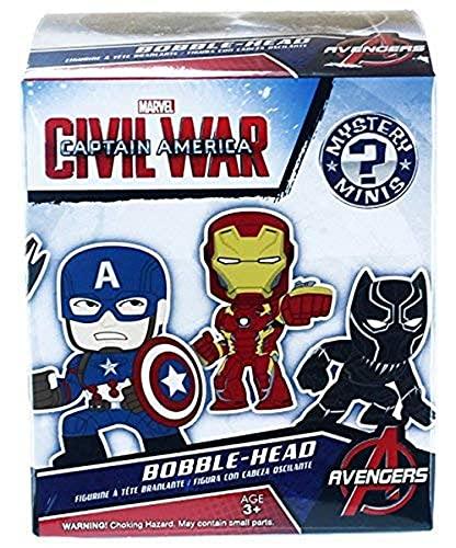 Boite Mystery Minis - Marvel Captain America : Civil War (Contient 1 caractère par boîte - 12 dessins aléatoires)