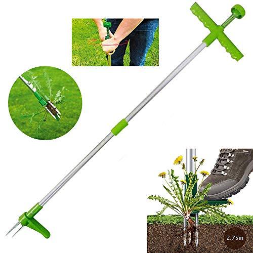 Stehendes Unkraut- Und Unkraut-Abzieher-Werkzeug, Stehendes Manuelles Unkraut-Handwerkzeug, Outdoor-Killer-Werkzeug-Klauen-Unkrautvernichter,langlebiger Unkraut-Abzieher-Wurzelentferner Für Garden