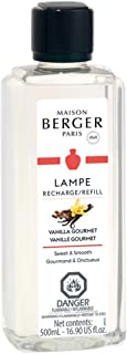 Vanilla Gourmet | Lampe Berger Fragrance Refill by Maison Berger | for Home Fragrance Oil Diffuser | Purifying and perfumi...