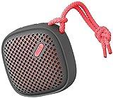 NudeAudio Move S Universal Tragbarer Drahtloser Bluetooth Lautsprecher - black/coral