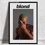 MHHDD Dekorative Frank Ocean Poster Blonde Sänger Star