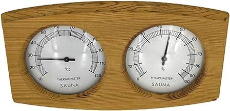 FLAMEER Termómetros de Sauna Herramientas Para Medición Accesorios de Medición