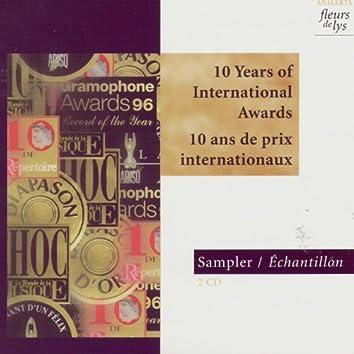 Sampler 1997-1998: 10 Years of International Awards