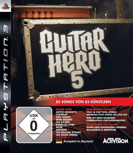 Activision Guitar Hero 5 (PS3) - Juego (PlayStation 3, Música, T (Teen))