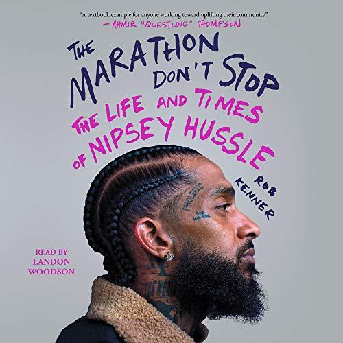 The Marathon Don't Stop cover art