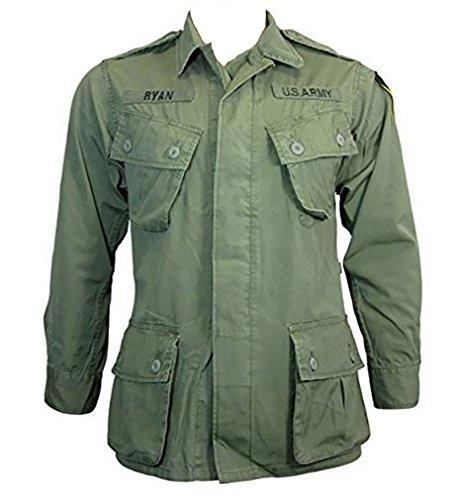 Mil-Tec US Jungle Jacket M64 Vietnam, oliv, Oliv, L