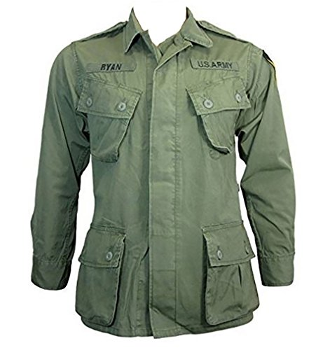 Mil-Tec US Jungle Jacket M64 Vietnam, oliv, Oliv, L