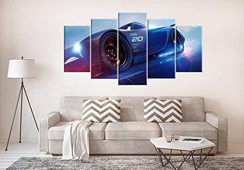 VKEXVDR Lienzo Decorativo para Pared Cars 3 Storm 2 – Automative DiseñO de GicléE,Estilo Moderno,Ideal para Salones-200x100cm Sin Marco