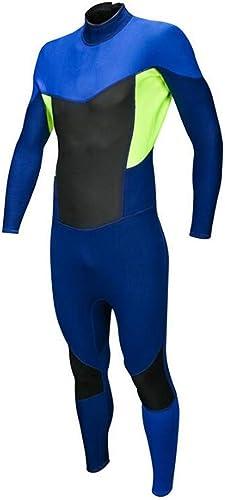 STEAM PANDA 3MM Male Wetsuits Snorkeling Full longueur Diving Suit Maillot de Bain Séchage Rapide écran Solaire en Caoutchouc 90% Nylon 10%