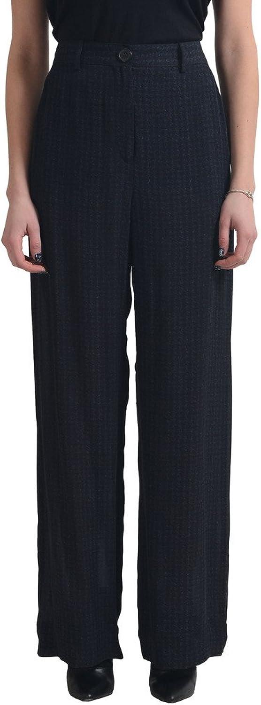 Maison Martin Margiela Women's 100% Silk Wide Leg Casual Pants