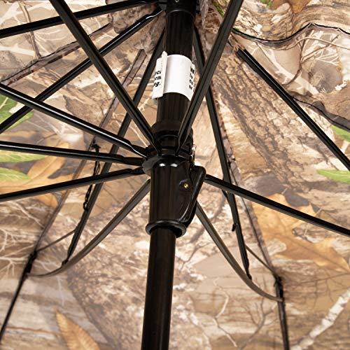 Allen Company Camo Hunting Treestand Umbrella, 50 inches Wide, Realtree Edge Camo (190A)