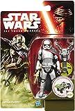 Star Wars - Figura Capitán Phasma, 9 cm (Hasbro B3447ES0)
