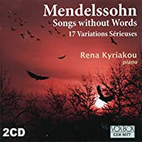 MENDELSSOHN/ SONGS WITHOUT WORDS