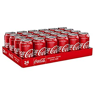 Coca Cola Original Taste 24 x 330ml Cans (B0051GNHJ4) | Amazon price tracker / tracking, Amazon price history charts, Amazon price watches, Amazon price drop alerts
