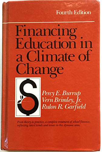 Financing Education in a Climate of Change (Fourth Ed.)