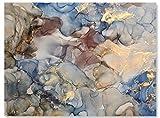 wandmotiv24 Leinwand-Bilder Natur-Stein, Größe 40x30cm,