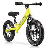 ONETWOFIT Biciclette Senza Pedali in Alluminio per Bambini e Ragazzi, Bicicletta da Allenamento...