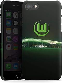 DeinDesign Premium Case kompatibel mit Apple iPhone 8 Smartphone Handyhülle Hülle matt Offizielles Lizenzprodukt VFL Wolfsburg Stadion