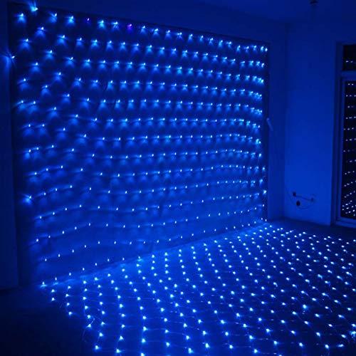 BHJqsy Dekorative Leuchten, netto Lichterketten LED wasserdicht Netzlicht leuchtet Lichterketten Lichter Netznetzs Leuchten Weihnachtsbaum leuchtet Lichter Urlaub Hochzeit bar Außen (Color : 8x10m)