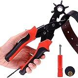 Anwenk Ceinture Punch Perforatrice professionnel en cuir en cuir trou perforatrice...