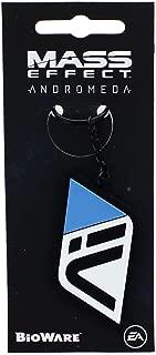 Nerd Block Mass Effect Andromeda Initiative Black Rubber Key Chain