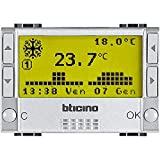 Bticino NT4451 Livinglight Tech Cronotermostato Settimanale, Tech