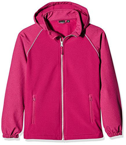 NAME IT Mädchen NITALFA Softshell Jacket ANE NMT FO Camp Jacke, Rosa (Anemone), 146