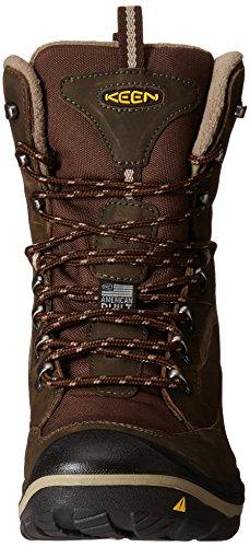 KEEN Men's Durand Polar Winter Boot, Black/Gargoyle, 10.5 M US