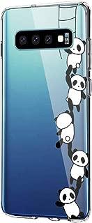 Case Compatible with Samsung Galaxy S10 Plus Case Clear TPU Silicone Bumper Protection for Samsung S10/S10e - Print Design (8, S10e)