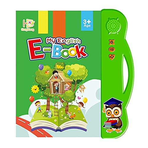 Yiran ABC Learning Sound Book Toy for toddlers 6 months to 3 years old, Activities With Numbers, Shapes, Colors & Animals, Interactive books for Children.
