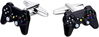 Fashion Exqusite Black Games Shank Shirt Cufflinks Cuff Link Button Men Jewellry for Male c124