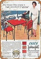 1955 Cosco折りたたみカードテーブル