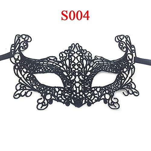 SLM-max Máscara Muy aterradora Máscara de Halloween Fiesta de Cosplay Sexy Hollow out Lace Party Discoteca Máscara de Ojos Máscara de Encaje Accesorios , para Mascarada/Fiesta/Mardi Gras-Lace L7