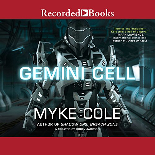 Gemini Cell audiobook cover art
