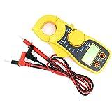 Multimetro digitale a pinza amperometrica NUZAMAS Voltmetro AC/DC, corrente CA/CC, resistenza, tester diodi con protezione da sovraccarico Risultati Display LCD registratore
