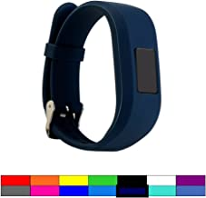 Dunfire Replacement Wristbands and Clip Cases for Garmin Vivofit 3/ Vivofit JR/JR 2, Large Size and Small Size Bands, One Size Clip Holder Cover