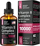 Best B Vitamins - B Complex Liquid Supplement - Energy & Metabolism Review