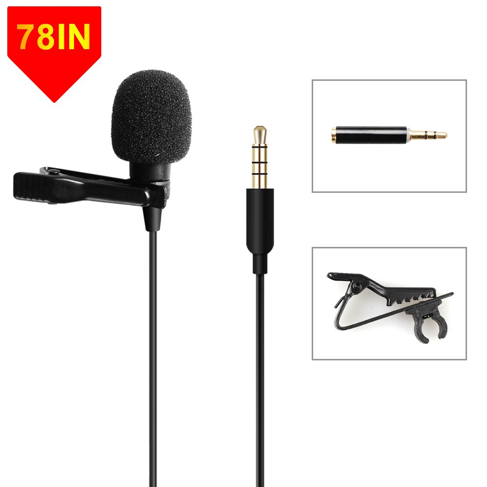 Microphone Handsfree Omnidirectional Condenser Smartphone