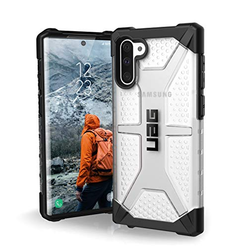 Urban Armor Gear Plasma Hülle Samsung Galaxy Note20 (5G) (6,7'' Zoll) [Offiziell Designed for Samsung Zertifiziert, Wireless Charging (Qi) kompatibel, Ultra Slim Bumper] Ice (transparent)