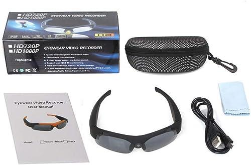 Lunettes de Soleil Sport polarisées 1080 P HD Vidéo Grand Angle Camera Lenses Vélo en Plein Air Sport Vidéo Intelligent Caméra Lunettes Enregistreur Activités extérieures