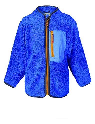 Racoon Jungen Viking Boy Teddyfleecejacke Jacke, Blau (Dazzling Blue DAZ), 110
