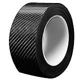 プロテクションフィルム 車用ドアフィルム傷 汚れ 防止 ドアエッジモール 車 ドア 保護 ボディ 簡単 (黒, 5CM*5M)