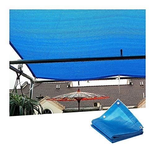 PENGFEI Malla Sombra De Red, Red Sombrillas Engrosamiento Cifrado 6 Pines, Utilizada para Refugio Patio Balcón, Ventilación Protección UV, Personalizable (Color : A, Size : 3mx7m)