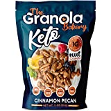 The Granola Bakery Keto Candied Pecans | Low Carb Keto Nut Snack | 2g Net Carb, Low Sugar | Small Batch, Hand Crafted | Cinnamon Pecan, 9.5 Ounces