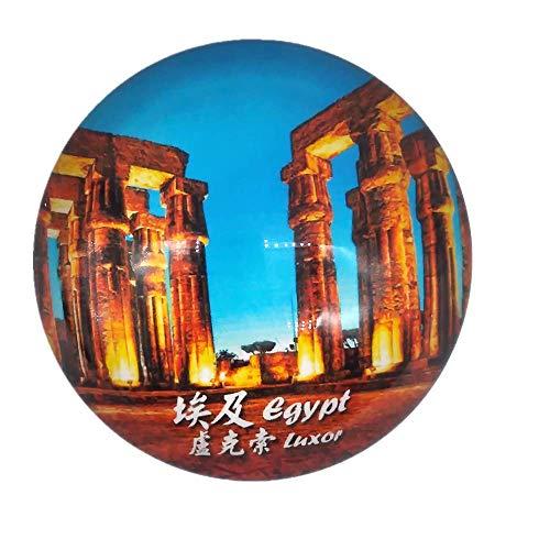Luxor Ägypten Kühlschrankmagnet Reise Souvenir Geschenk Home & Küche Dekoration Magnet Sticker Kristall Kühlschrank Magnet Sammlung