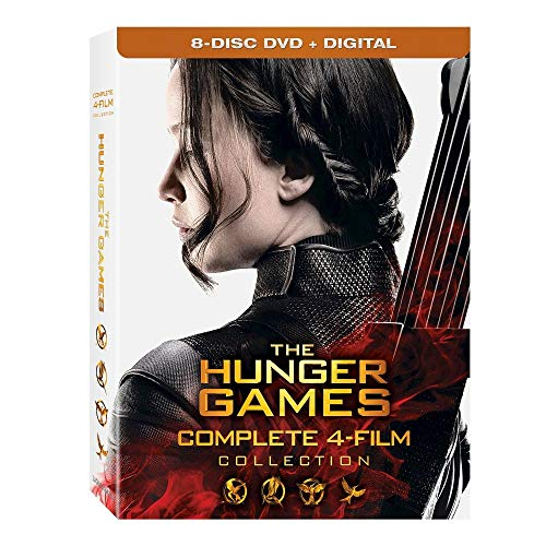 HUNGER GAMES: COMPLETE 4 FILM COLLECTION - HUNGER GAMES: COMPLETE 4 FILM COLLECTION (8 DVD)