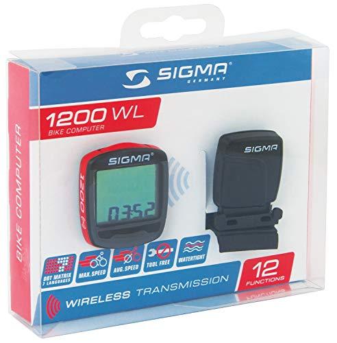 SIGMA 724431 compteur BC1200 WL 12 Fonctions sans Fil